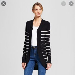 A New Day | Cocoon Cardigan black & white